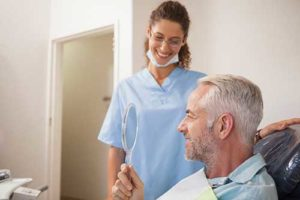 Man receiving root canal treatment TX root canal therapy TX