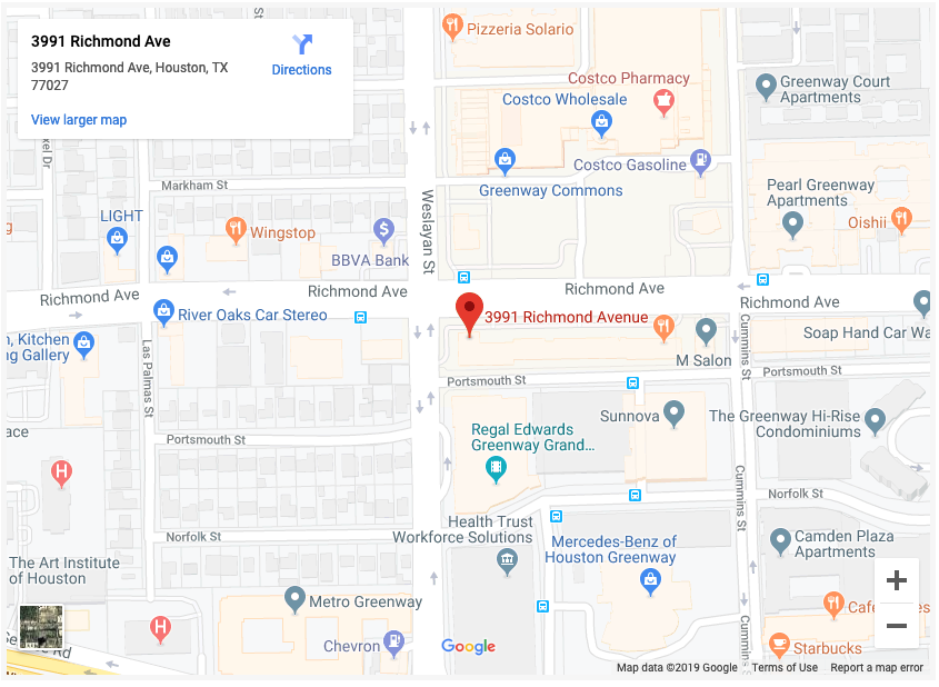 Lovett Dental map in Houston