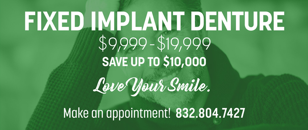 fixed implant denture special offers